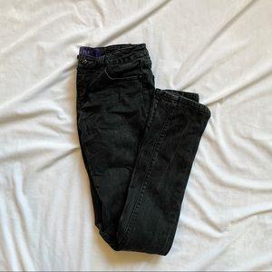 Miley Cyrus & Maxazaria Black Jeans
